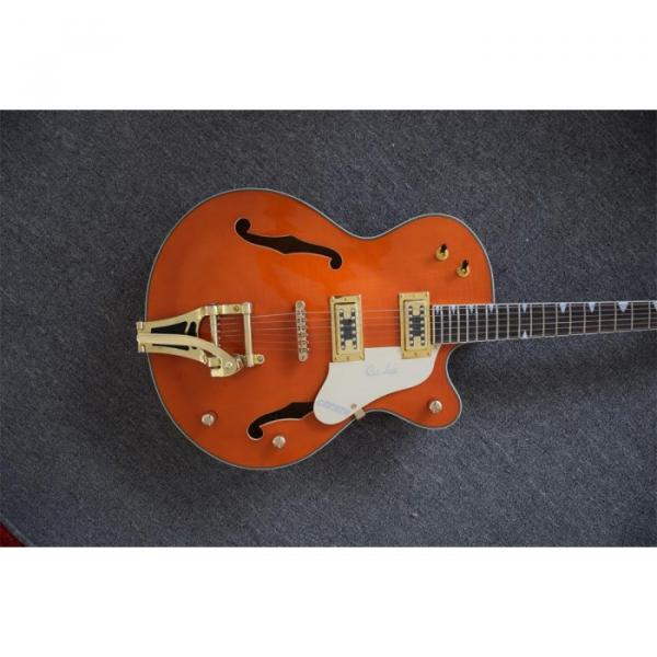 Custom Shop Gretsch Orange Falcon Nashville Jazz Electric Guitar #2 image