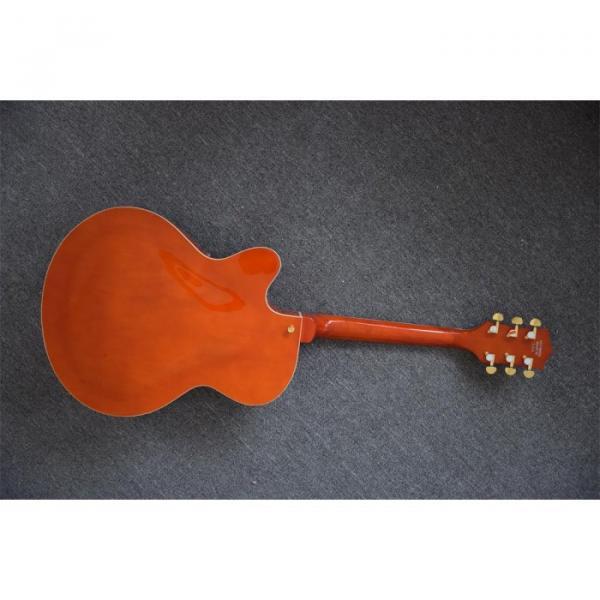 Custom Shop Gretsch Orange Falcon Nashville Jazz Electric Guitar #5 image
