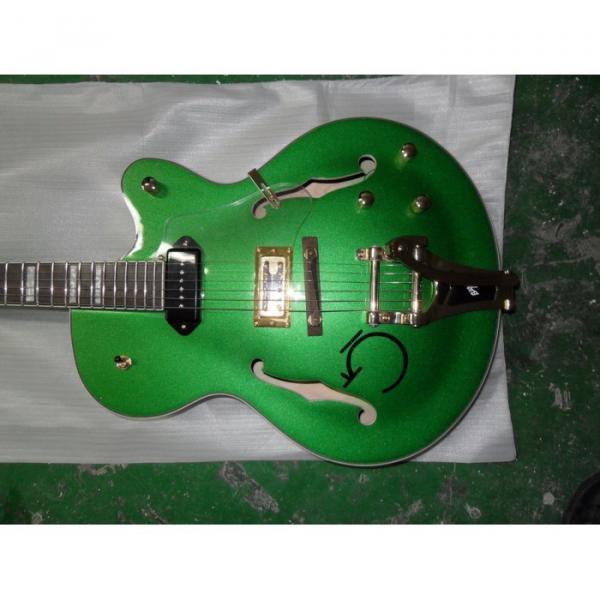 Custom Shop Gretsch Green Nashville Electric Guitar #1 image