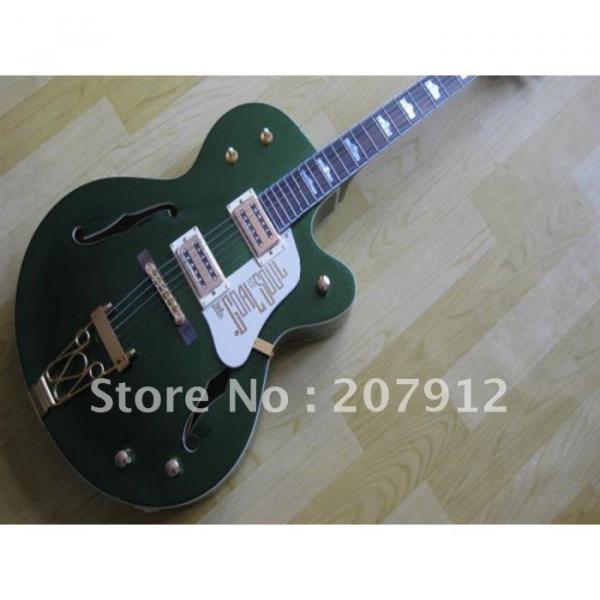 Custom Shop Green Gretsch Nashville Electric Guitar #2 image