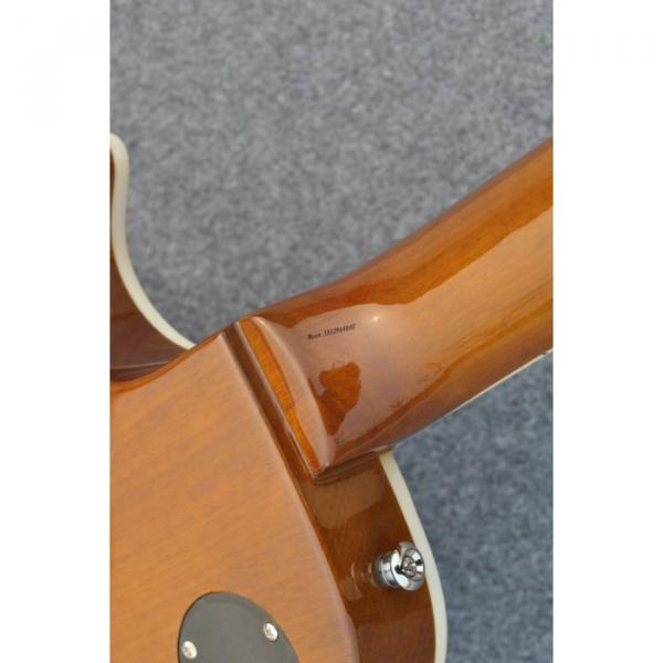 Custom Shop Golden Abalone Snakepit Slash Inlay Fretboard Electric Guitar #3 image