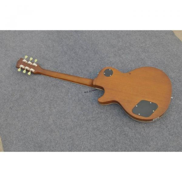 Custom Shop Golden Abalone Snakepit Slash Inlay Fretboard Electric Guitar #5 image