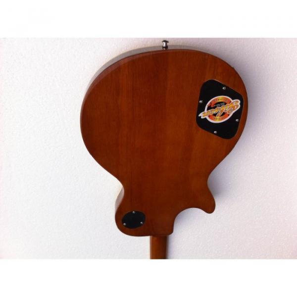 Custom Shop Flame Maple Top Iced Tea Electric Guitar #4 image