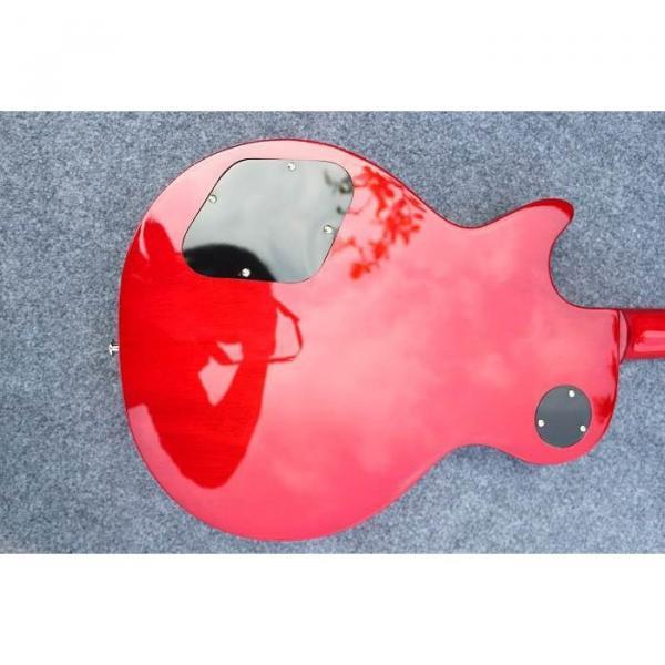 Custom Shop Flame Maple Top Sunburst Electric Guitar #4 image