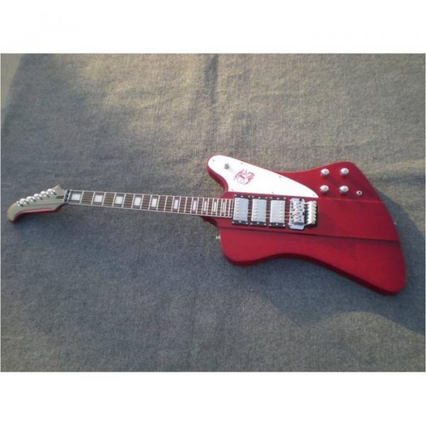 Custom Shop Firebird Red Electric Guitar #4 image