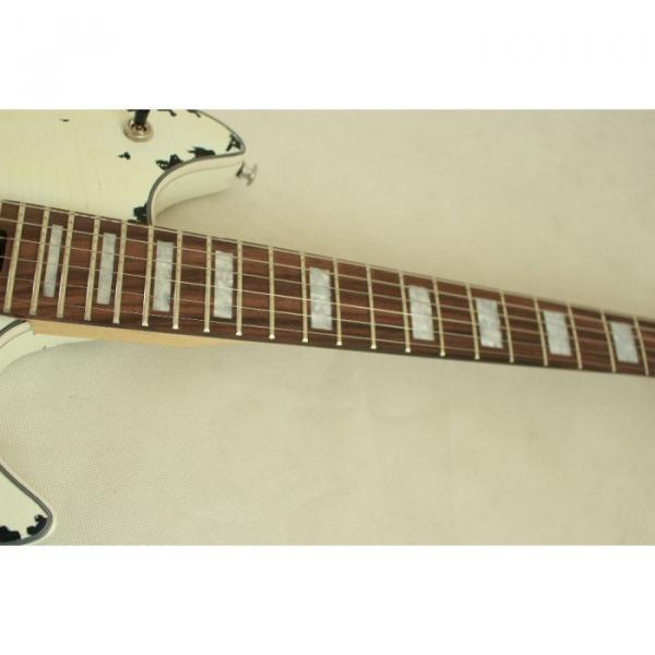 Custom Shop EVH Peavey Electric Guitar Relic Vintage White #2 image