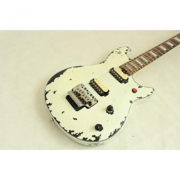 Custom Shop EVH Peavey Electric Guitar Relic Vintage White #3 image