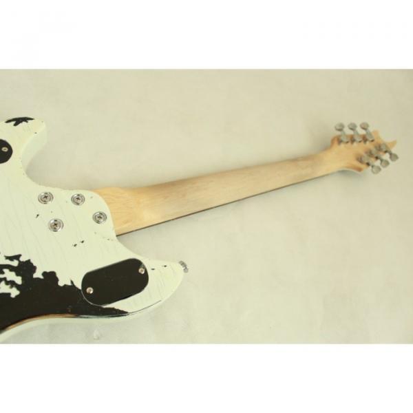 Custom Shop EVH Peavey Electric Guitar Relic Vintage White #5 image