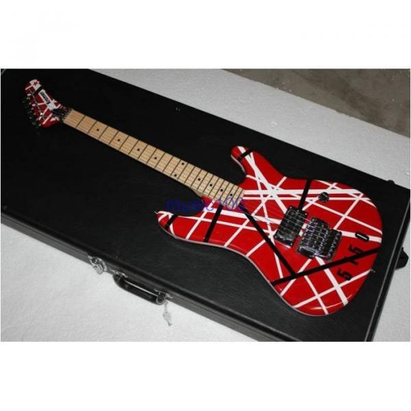 Custom Shop EVH 5150 Black White Stripes Electric Guitar #4 image