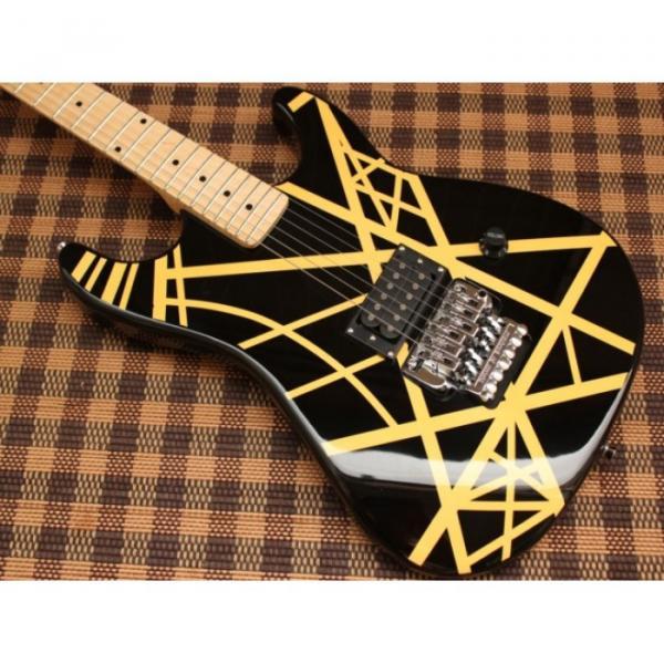 Custom Shop EVH 5150 Black Electric Guitar #1 image