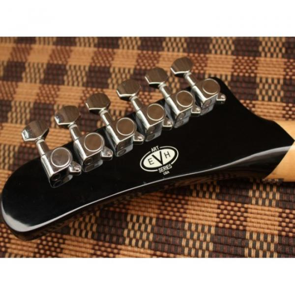 Custom Shop EVH 5150 Black Electric Guitar #2 image