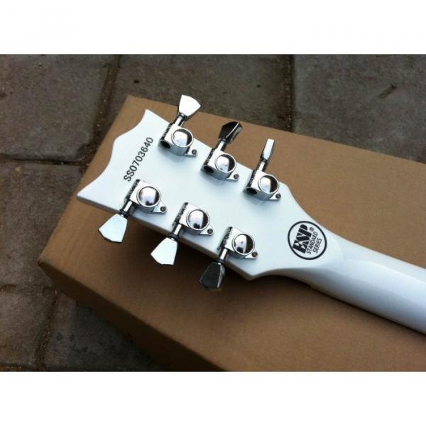 Custom Shop ESP Eclipse White Electric guitar #2 image