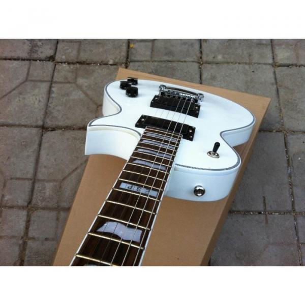 Custom Shop ESP Eclipse White Electric guitar #5 image