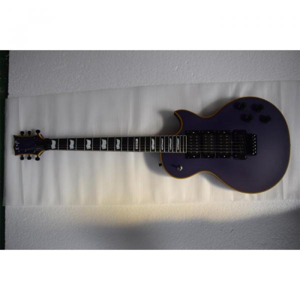 Custom Shop ESP Eclipse Purple Matte Electric guitar #2 image