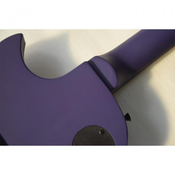 Custom Shop ESP Eclipse Purple Matte Electric guitar #4 image