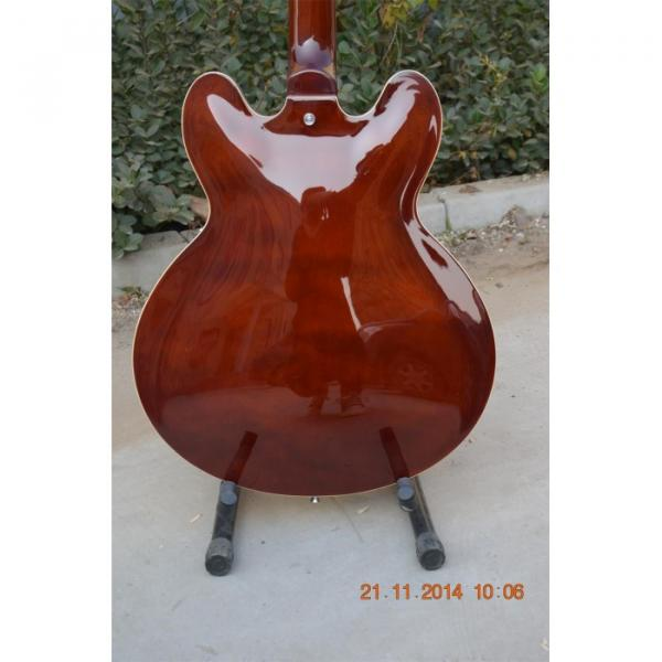 Custom Shop ES335 Curly Walnut Brown Electric Guitar #2 image