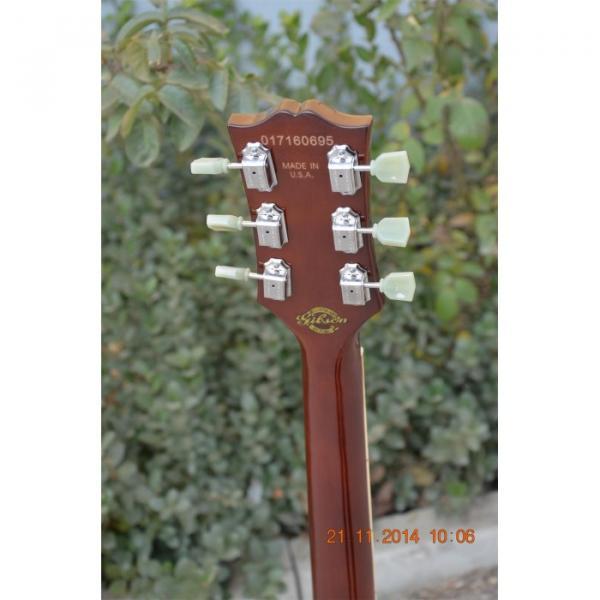 Custom Shop ES335 Curly Walnut Brown Electric Guitar #3 image