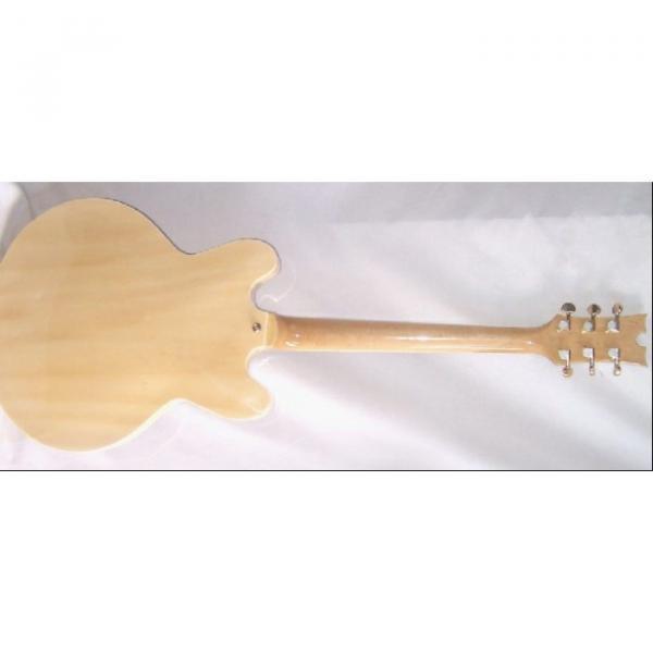 Custom Shop ES335 Spalted Natural Maple Veneer Electric Guitar #2 image