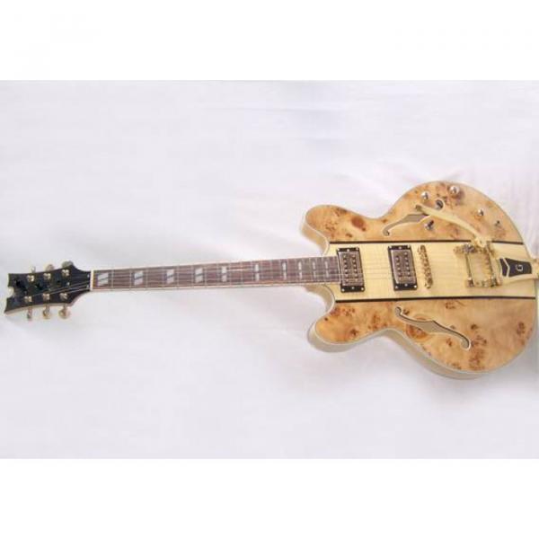 Custom Shop ES335 Spalted Natural Maple Veneer Electric Guitar #3 image
