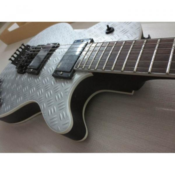 Custom Shop Eclipse ESP Matt Metallic Electric Guitar With Tremolo #3 image