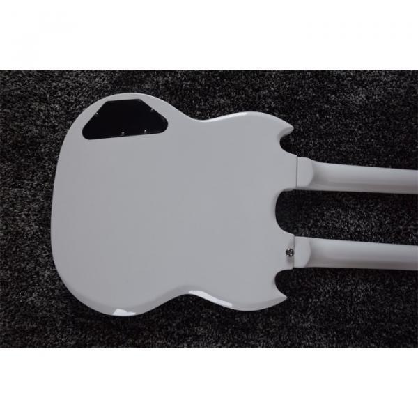 Custom Shop Don Felder EDS 1275 SG Double Neck Arctic White Electric Guitar #3 image