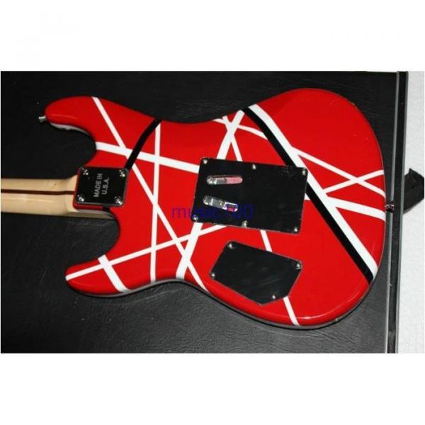 Custom Shop EVH 5150 Black White Stripes Electric Guitar #6 image