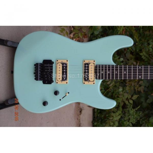 Custom Shop Charvel Dimas Sea Foam Blue Electric Guitar #1 image
