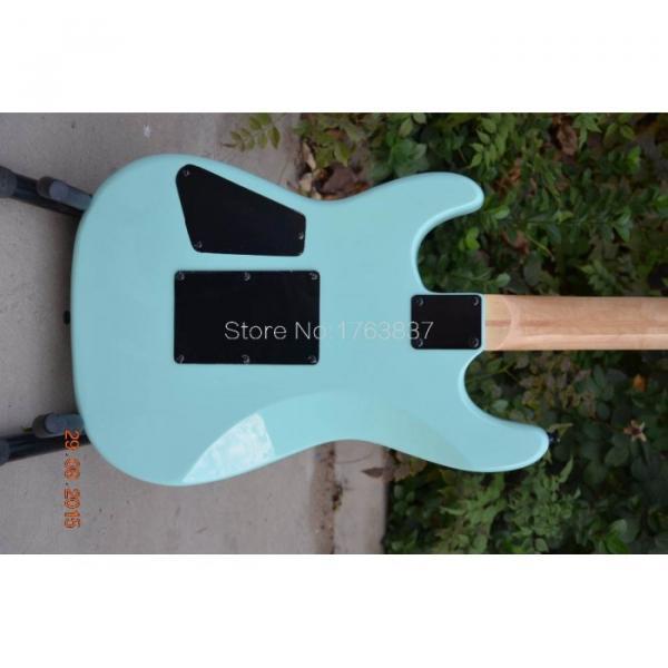 Custom Shop Charvel Dimas Sea Foam Blue Electric Guitar #4 image