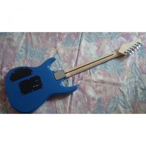 Custom Shop Blue Ibanez Jem 7 Electric Guitar #4 image