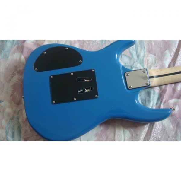 Custom Shop Blue Ibanez Jem 7 Electric Guitar #5 image
