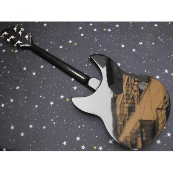 Custom Shop Black Rickenbacker 6 Strings 325 Electric Guitar #3 image