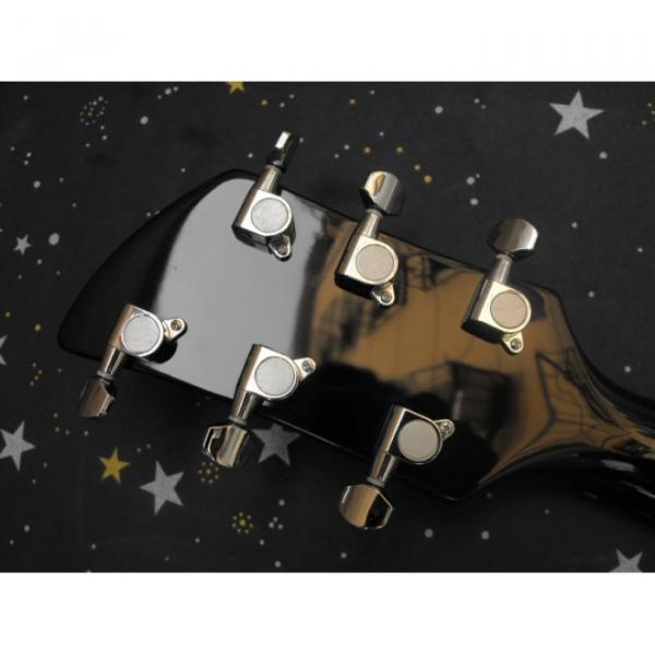 Custom Shop Black Rickenbacker 6 Strings 325 Electric Guitar #5 image