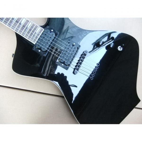 Custom Shop Black Ibanez Electric Guitar #4 image