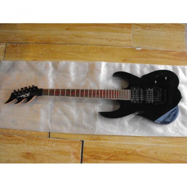Custom Shop Black BC Electric Guitar #1 image
