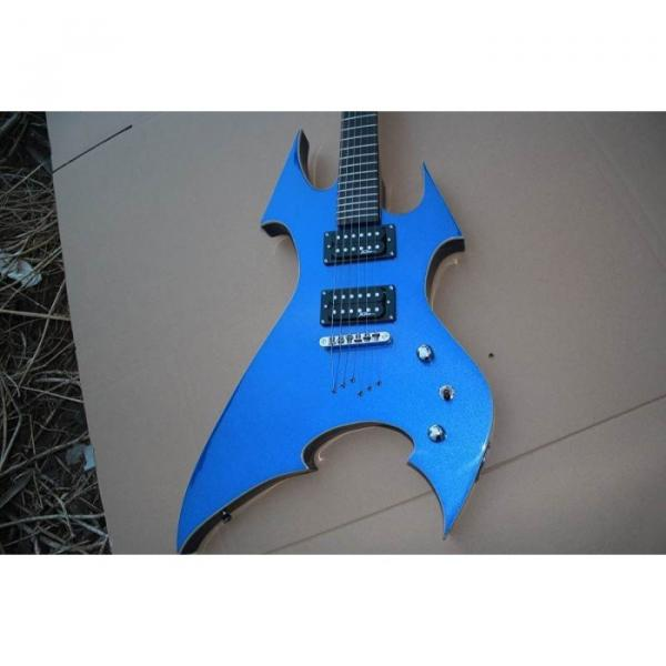 Custom Shop Avenge Blue BC Rich Electric Guitar #5 image