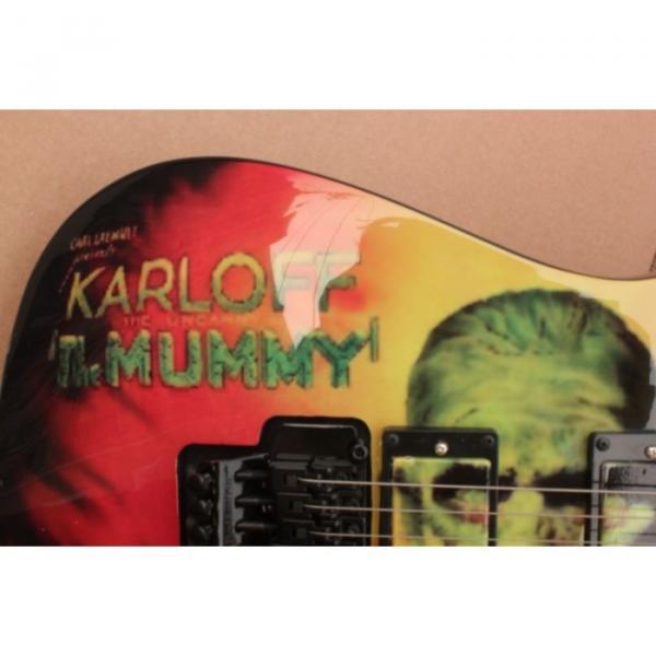 Custom Movie ESP Karloff Mummy Electric Guitar #2 image