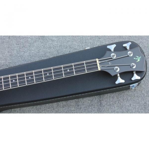 Custom Hofner Tobacco Color Fhole Jazz Electric Guitar #5 image