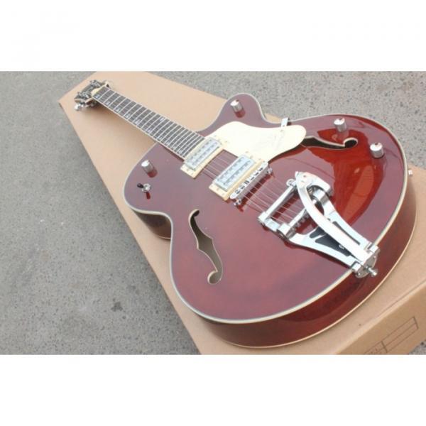 Custom Gretsch Brown Electric Guitar #1 image