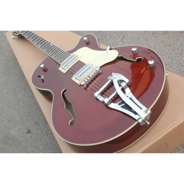 Custom Gretsch Brown Electric Guitar #3 image