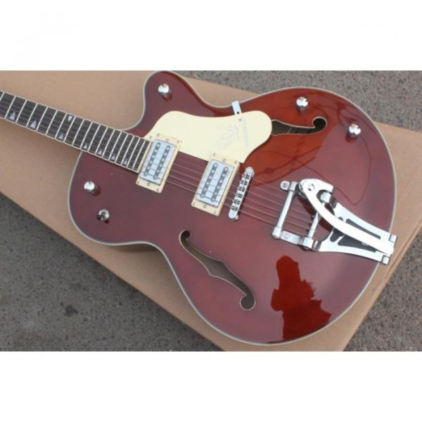 Custom Gretsch Brown Electric Guitar #5 image