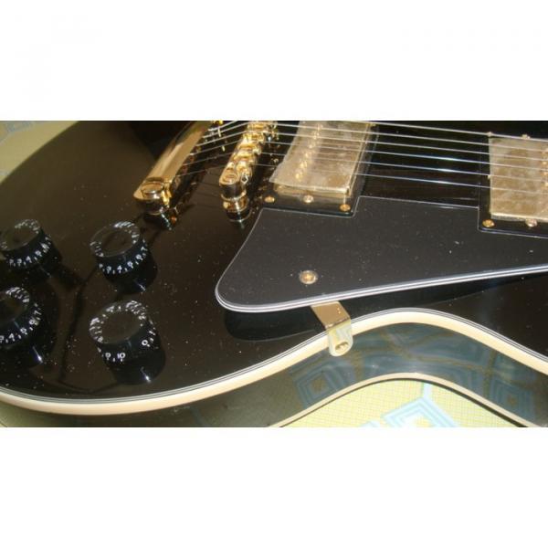 Custom Black ESP Black Beauty Electric Guitar #1 image