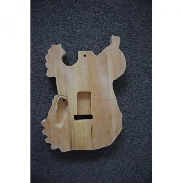 Custom  ESP Unfinished Carved Skull Electric Guitar #3 image