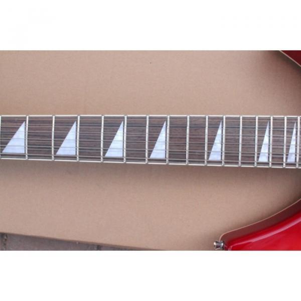 12 Strings Rickenbacker 381 Fireglo Electric Guitar #1 image