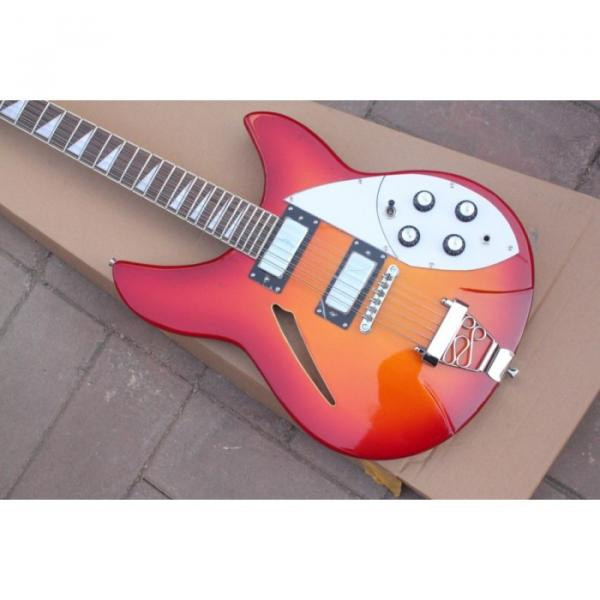12 Strings Rickenbacker 381 Fireglo Electric Guitar #2 image