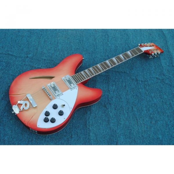 12 Strings Rickenbacker 360  2 Pickups Cherry Burst Electric Guitar #1 image