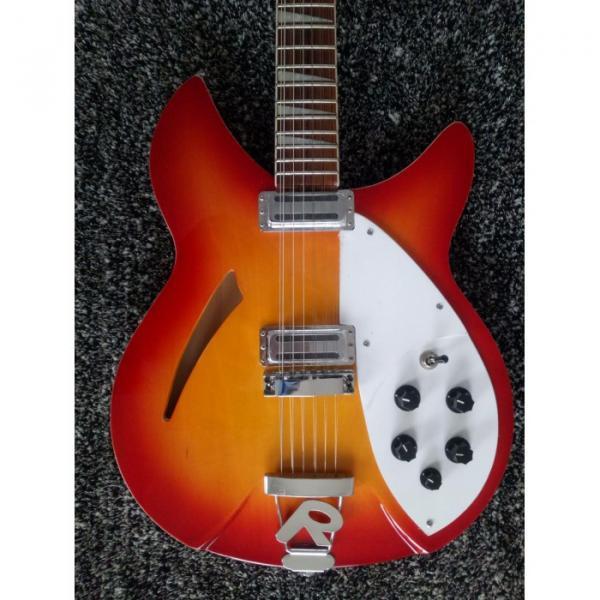 12 Strings Custom Rickenbacker 360 12C63 Fireglo Electric Guitar #2 image