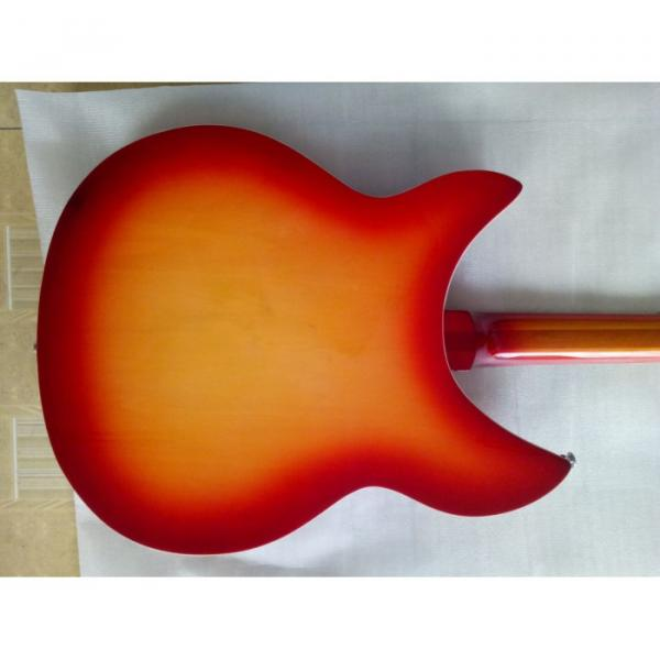 12 Strings Custom Rickenbacker 360 12C63 Fireglo Electric Guitar #4 image