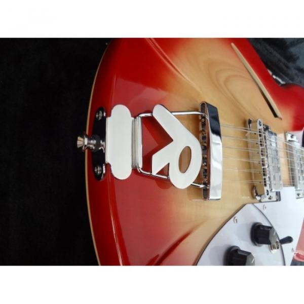 12 Strings Custom 360 2 Pickups Cherry Burst Electric Guitar #4 image