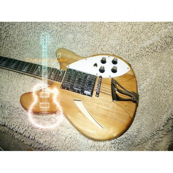 12 Strings Custom 360  3 Pickups Naturalglo Electric Guitar #1 image