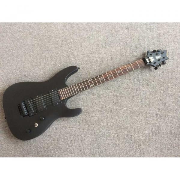 Custom Shop EVL K4 Cort Black Electric Guitar #1 image
